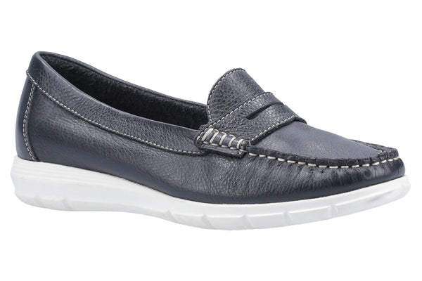 Hush Puppies Paige Slip On Loafer Navy