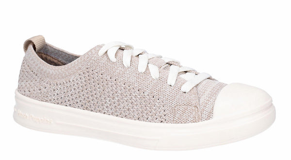 Hush Puppies Schnoodle Lace Up Summer Shoe Taupe