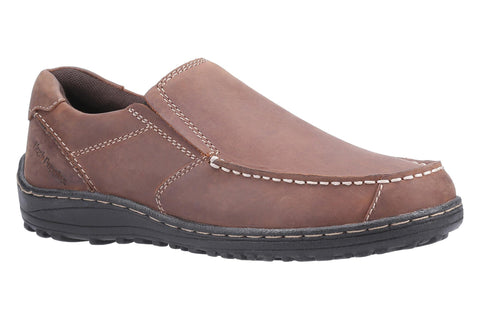 Hush Puppies Thomas Slip on Loafer Brown