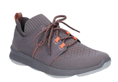 Hush Puppies World Lace Up Shoe Dark Grey