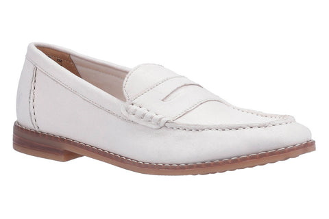 Hush Puppies Wren Slip On Loafer Ivory