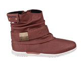 KangaROOS K-Boot Womens Slouch Style Pull On Ankle Boot