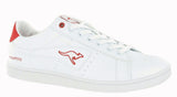 KangaROOS K-Classic 7054 Mens Lace Up Trainer White/Red