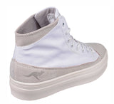 KangaROOS K-Mid Plateau 5072 Womens High Top Lace Up Flatform Sneaker