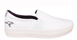 KangaROOS K-Mid Plateau 5092 Womens Slip On Flatform Canvas Shoe