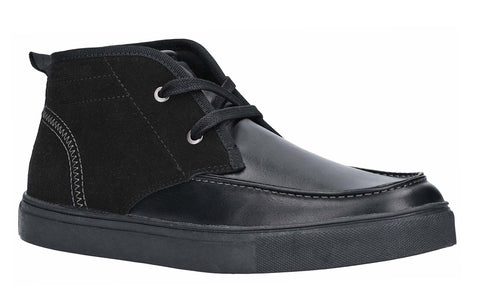 Lambretta Chukka Lace Ankle Boot Black