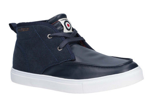 Lambretta Chukka Lace Ankle Boot Navy