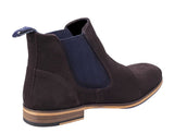 Lambretta Moorgate Mens Suede Leather Formal Chelsea Boot