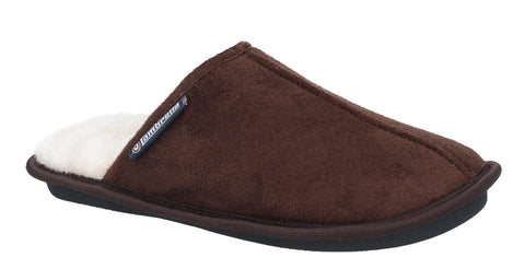 Lambretta Mule Slipper Dark Brown