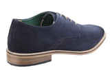 Lambretta Scotts Mens Derby Style Suede Lace Up Shoe