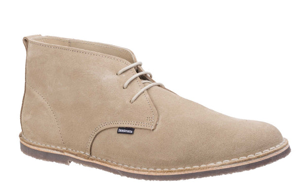 Lambretta Selector Mens Large Size Suede Lace Up Desert Boot