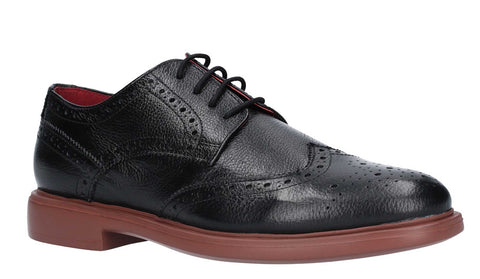 Lambretta Spencer Brogue Lace Shoe Black