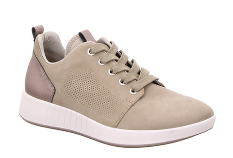Legero Essence 4-00923-76 Womens Nubuck Leather Lace Up Trainer