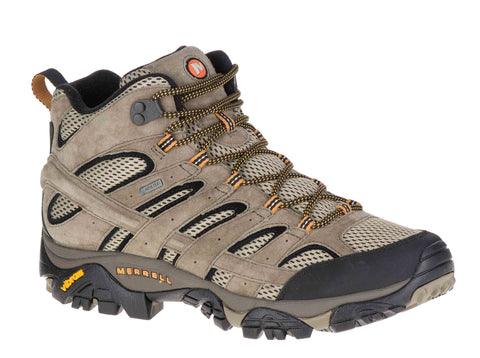 Merrell Moab 2 Mid GTX (598233) Mens Waterproof Walking Boot Pecan