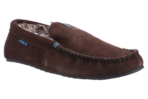 Moshulu Fielding 3 Mens Moccasin Slipper