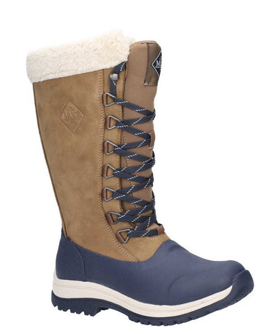 Muck Boots Apres Tall Boot Otter/Navy