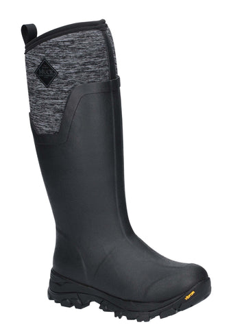 Muck Boots Womens Arctic Ice Tall Extreme Conditions Sport Boot Black/Heather
