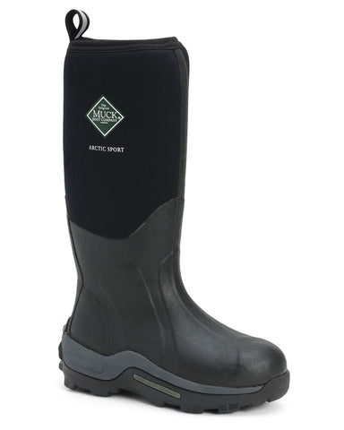 Muck Boot Arctic Sport Mens Wellington Boot Black