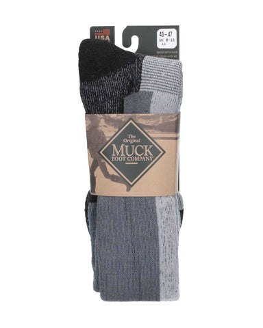 Muck Boots Authentic Rubber Boot Sock Grey