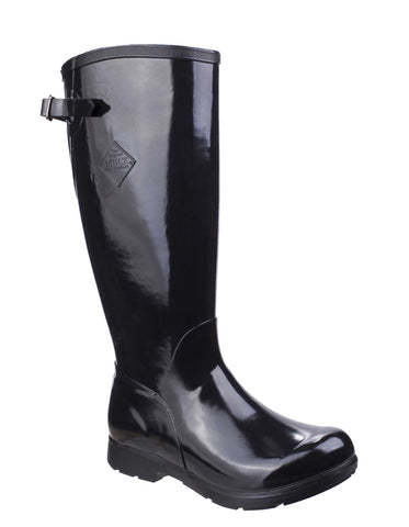 Muck Boots Bergen Tall Lightweight Rain Boot Black