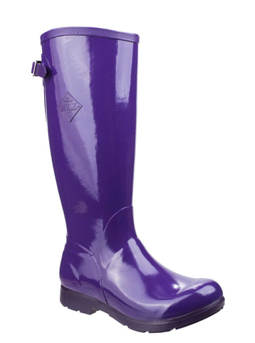 Muck Boots Bergen Tall Lightweight Rain Boot Purple
