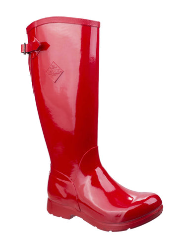 Muck Boots Bergen Tall Lightweight Rain Boot Red