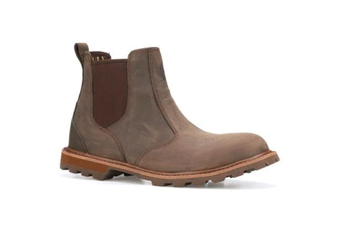 Muck Boot Mens Chelsea Leather Waterproof Ankle Boot