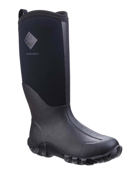 Muck Boot Edgewater II Mens Multi-Purpose Wellington Boot Black
