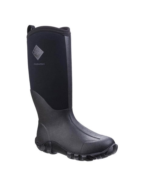 Muck Boot Edgewater II Womens Multi-Purpose Wellington Boot Black