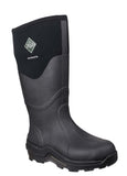 Muck Boot Muckmaster Hi Womens Wellington Work Boot Black