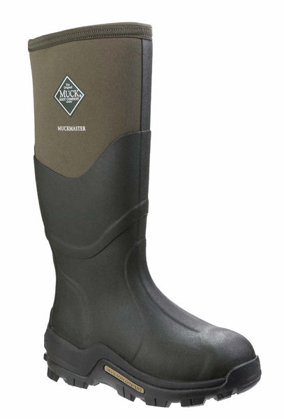 Muck Boot Muckmaster Hi Womens Wellington Work Boot Moss