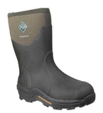 Muck Boot Muckmaster Mid Mens Wellington Work Boot Moss