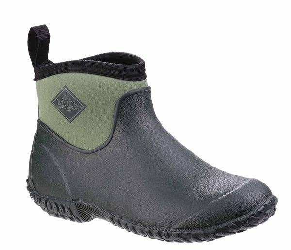 Muck Boot Muckster II Ankle Mens Short Wellington Boot Moss