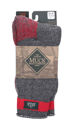 Muck Boots Northwest Territory Sock Charcoal