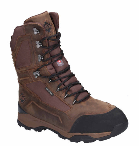 "Muck Boots Summit 10"" Cold Weather Performance Boot Brown"