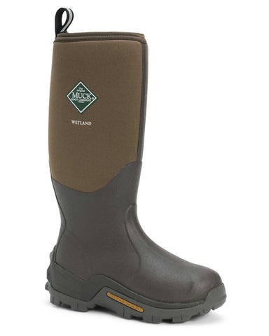 Muck Boot Wetland Mens Wellington Boot Bark