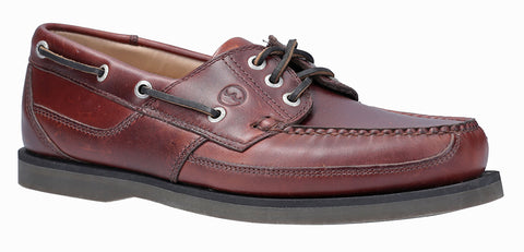 Orca Bay Cherokee Mens 3 Eyelet Lace Up Deck Shoe Elk L
