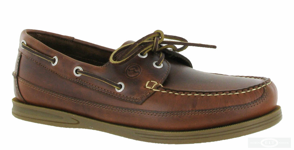 exquisite design detailed images beautiful design Orca Bay Fowey Mens Wide Fit 2 Eyelet Lace Up Deck Shoe