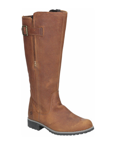 Orca Bay Moreton Womens Long Leg Leather Country Boot