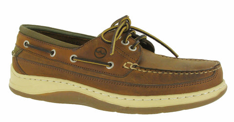 Orca Bay Squamish Mens 3 Eyelet Lace Up Sports Deck Shoe Sand N