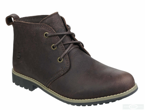 Orca Bay Stanton Womens Lace Up Chukka Boot Dark Brown