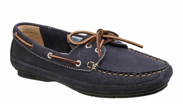 Orca Bay Bahamas Womens Lace Up Driving Shoe Indigo