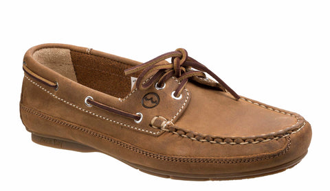 Orca Bay Bahamas Womens Lace Up Driving Shoe Sand