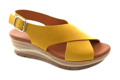 Paula Urban 1-52 Womens Wedge Sandal