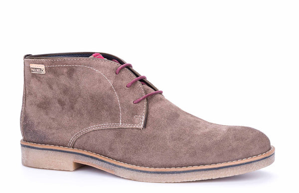 Pikolinos M0E-8163SO (Istan) Mens Suede Leather Lace Up Boot