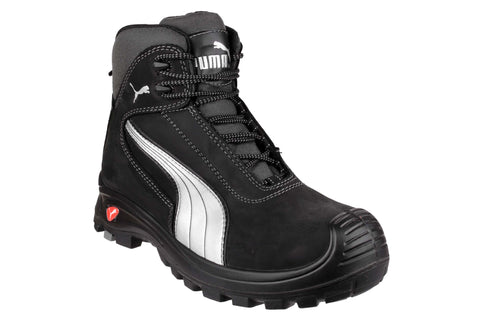 Puma Safety Cascades Mid Lace-up Safety Boot Black