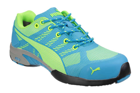 Puma Safety Celerity Knit Ultra Lightweight Safety Trainer Blue