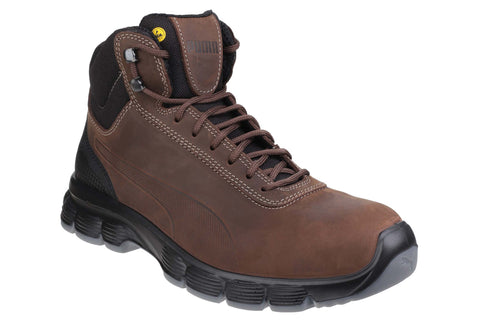 Puma Safety Condor Mid Lace up Safety Boot Brown