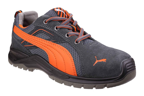 Puma Safety Omni Flash Low Lace up Safety Trainer Orange