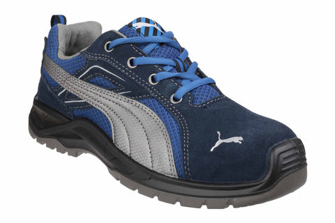 Puma Safety Omni Sky Low Lace up Safety Shoe Blue